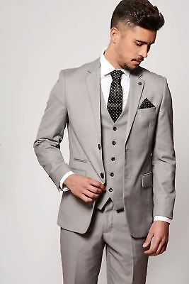 Mens Suit Blazer Tailored Office Work Business Formal Smart Casual Jacket