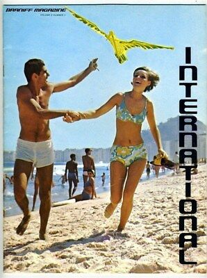 International The Braniff Airways In Flight Magazine Volume 2 No 1 1969 Acapulco