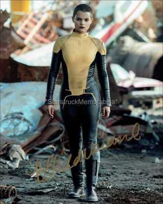 Brianna Hildebrand Autograph *Deadpool* Hand Signed 10X8 Photo