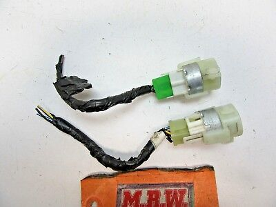 Fits Pair Of Relay Solenoids Solenoid Wire Plug Connector Pig Tail Harness End
