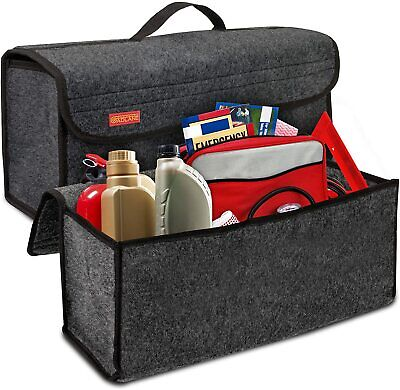 GADLANE Car Grey Carpet Boot Storage Bag Organiser Tools Breakdown Travel Tidy
