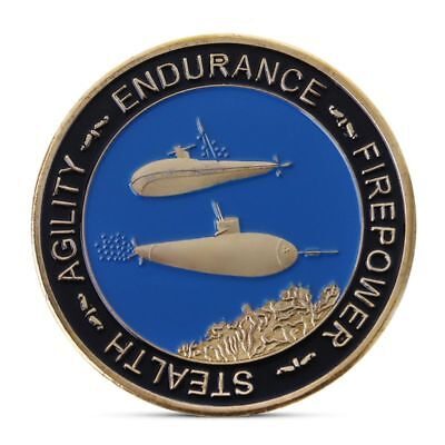 Commemorative Coin US Stealth Submarine Collection Arts Gifts Souvenir