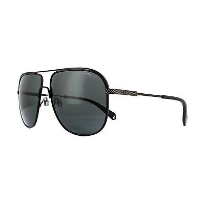 fcab74928 POLAROID SUNGLASSES PLD 2055/S 003 M9 Matt Black Grey Polarized ...