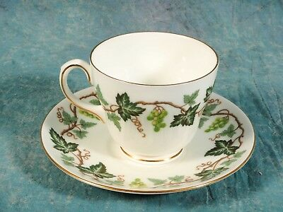 VINTAGE Wedgwood Santa Clara Coffee Tea cup Saucer Bone China 4114