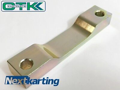 TonyKart / OTK Genuine 2011 - On Brake Caliper Support Spacer Mount Large Disc .