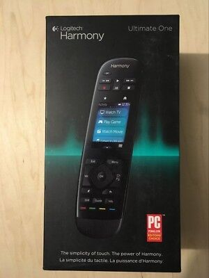 """Logitech Harmony Ultimate One – 2.4"""" Touch Screen Universal Remote for 15 Device"""