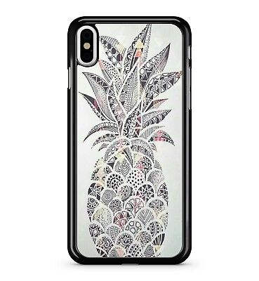 Artistic Patterned Tropical Scrumptious Pineapple Fruit 2D Phone Case Cover