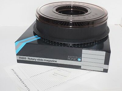 Hasselblad  PCP-80  Rotary Slide Tray. New in Box. #70303. 80 slide capacity.