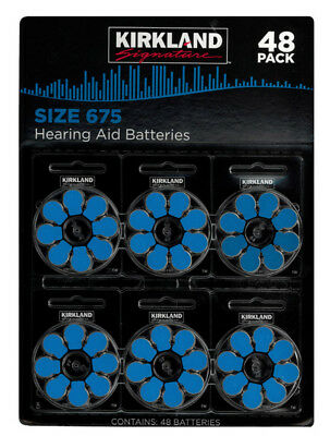 48 Hearing Aid Batteries Size 675  Long Expiry Date  Free Post