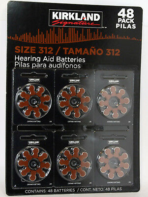 48 Hearing Aid Batteries Size 312 Long Expiry Date  Free Post