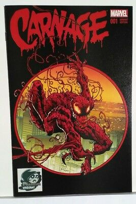 Carnage 1 Black Phantom Variant NM 2016 Great Condition!