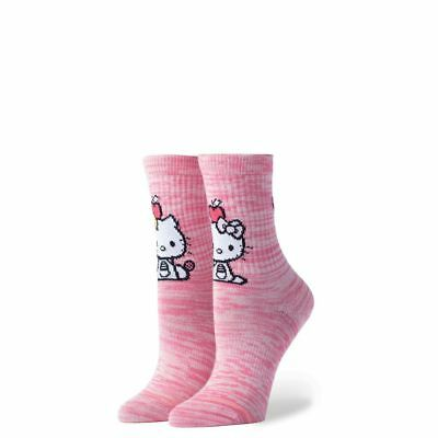 104664e35 Stance Socks X Sanrio Hello Kitty Girls Youth Best Pink Japan New  G526B18BES-PNK