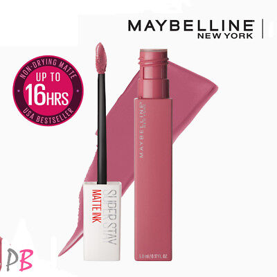 Maybelline SuperStay Matte Ink Liquid Lipstick Arrow Applicator Shades SEALED