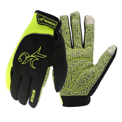 Unisex Cycling Bicycle Bike Motorcycle Sports Glove Offroad Full Finger Gloves