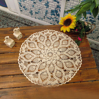 Table cloth Table Cover Crochet Home Decoration TableCloth Soft Cotton Blends
