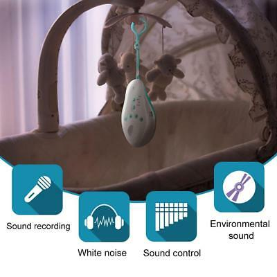 Noise Machine Baby Sleep Soothers Music Sound Record Sensor Timer Baby Monitor