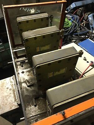 4x Btm Press Heads With Machine Setup