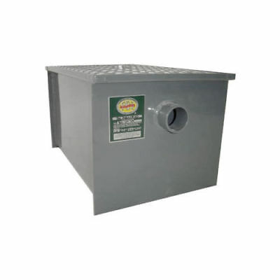 Commercial Stainless Steel Grease Trap Interceptor 30 lb - PDI Approved - NSF