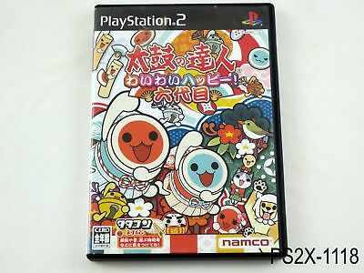 Taiko no Tatsujin 6 Wai Rokudaime Playstation 2 Japanese Import PS2 US Seller