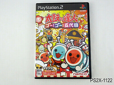 Taiko no Tatsujin 5 Go Go Godaime Playstation 2 Japanese Import PS2 US Seller