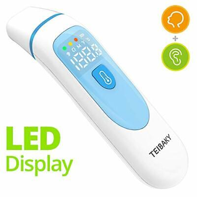 Baby Thermometer Clinical Ear Forehead Fast Accurate FDA Infrared Digital Fever