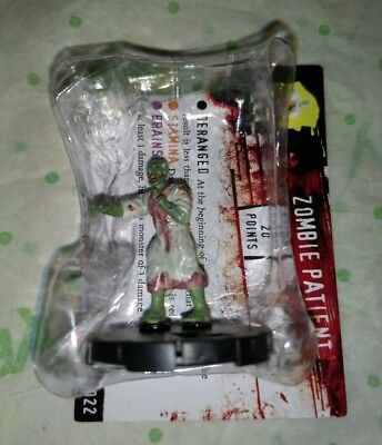 HORRORCLIX Zombie Patient  #022 Yellow-Rookie W/CARD The Lab