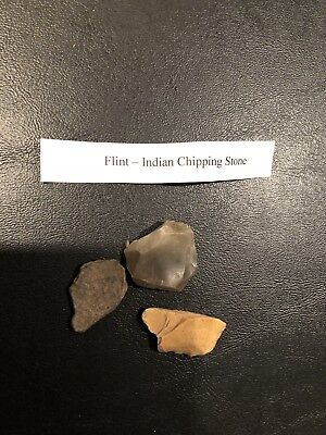 Vihtage Flint Indian Chipping Stone