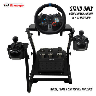 GT Omega Gaming Wheel stand PRO For Logitech G29 Racing & Driving force shifter