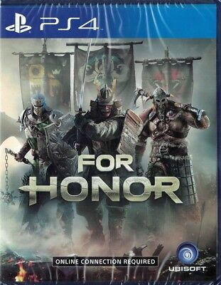 For Honor [Sony PlayStation 4 PS4 Strategy Team Play Melee Action Adventure] NEW