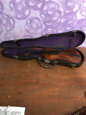 Vintage  4/4 Violin — Copy of Nicolaus Amati -Made in Germany w/ Case