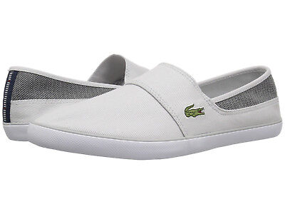 096d50affe5b Lacoste Men Shoes Marice 318 Lightweight Canvas Casual Sneakers NEW