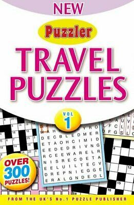 Puzzler Travel Puzzles: Volume 1 (New Puzzler) Book The Cheap Fast Free Post