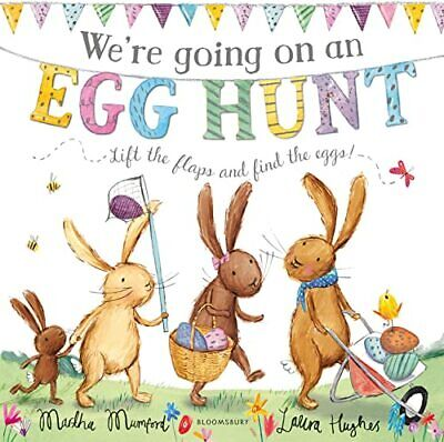 We're Going on an Egg Hunt by Mumford, Martha Book The Cheap Fast Free Post