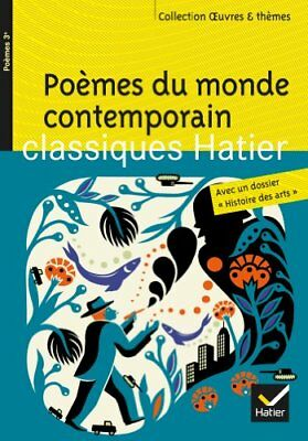 Oeuvres & Themes: Poemes Du Monde Contemporain by Philippe, Marie-Helene Book
