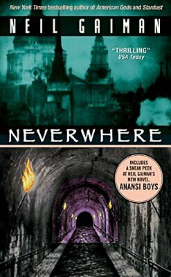 Neverwhere by Gaiman, Neil Paperback Book The Cheap Fast Free Post