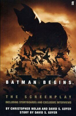 Batman Begins by Nolan, Christopher Paperback Book The Cheap Fast Free Post