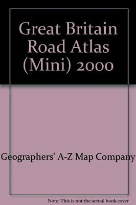 Great Britain Road Atlas (Mini) 2000 by Geographers' A-Z Map Company Paperback