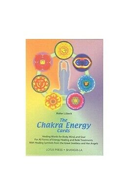 Chakra Energy Cards: Healing Words for Body, Mind and ... by Lubeck, Walter Book