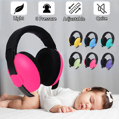 BABY Childs Ear Defenders Earmuffs Protection 6 COLOURS 3months+ Boys Girl !