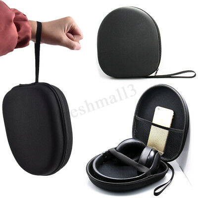 Headphone Hard Shell Case Headset Storage Box Travel Portable Carrying Bag