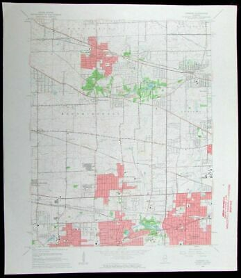 Lombard Illinois Roselle Bloomingdale Wheaton Itasca old 1964 USGS Topo chart