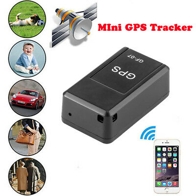NEW GF-07 Magnetic Mini Car Vehicle GPS Tracker For Elderly Kid Real Time Track