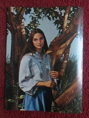 1981 Magazine Art Page ~ Country Music Star CRYSTAL GAYLE by Herb Davidson