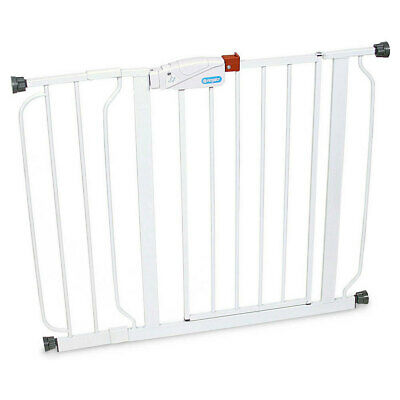 Regalo Easy Step Walk Thru Baby/Pet Gate 79cm Tall/73-98cm Wide Door Safety