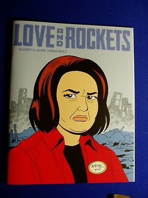 Love & Rockets vol4 no5: Los Bros Hernandez. Mag-size. 1st. New