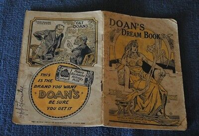 DOAN'S DREAM BOOK BOOKLET FOR DOAN'S BACKACHE KIDNEY PILLS c1926 #7
