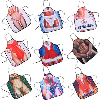 NEW Mens Womens Novelty BBQ Aprons Sexy Rude Cooking Kitchen Apron Funny