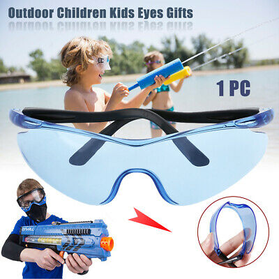 Plastic Safety Protect Eyes Glasses For Nerf Outdoor Game Gun Kids Toy Goggle