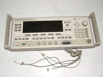 Agilent 83630A FRONT PANEL / DISPLAY 08360-60003 fully tested 8360 series