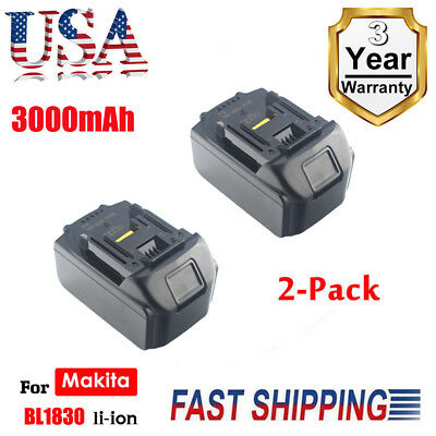 2X18V 3.0Ah REPLACE BL1830 BATTERY LXT400 LITHIUM-ION FOR Makita BL1845 CORDLESS
